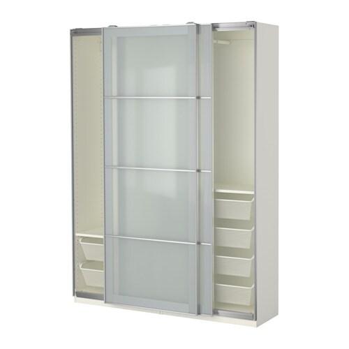 Pax armoire penderie 150x44x201 cm ikea - Ikea liste des magasins ...