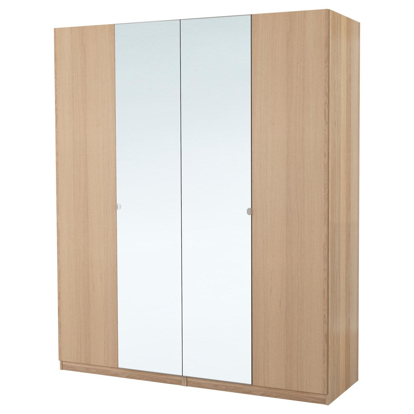 pax armoire penderie effet ch ne blanchi nexus vikedal 200x60x201 cm ikea. Black Bedroom Furniture Sets. Home Design Ideas