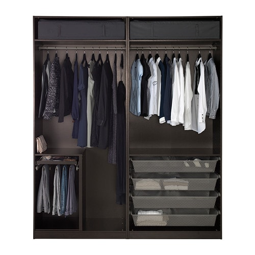 armoire dressing pax. Black Bedroom Furniture Sets. Home Design Ideas