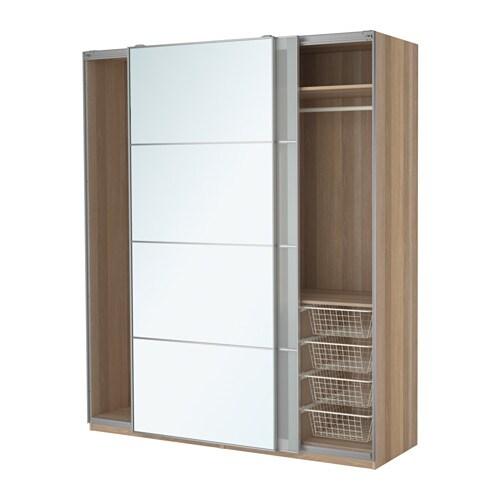 Pax armoire penderie accessoire de fermeture silencieuse ikea - Porte coulissante silencieuse ...
