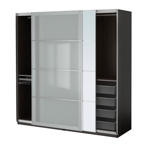 pax armoire penderie 200x66x201 cm accessoire de. Black Bedroom Furniture Sets. Home Design Ideas