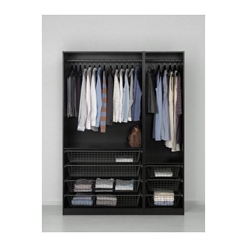 pax armoire penderie 150x58x201 cm ikea. Black Bedroom Furniture Sets. Home Design Ideas