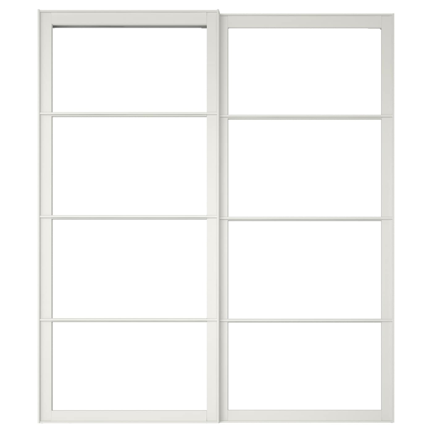 Charmant IKEA PAX Cadre Porte Coulissante 2pces Nice Look