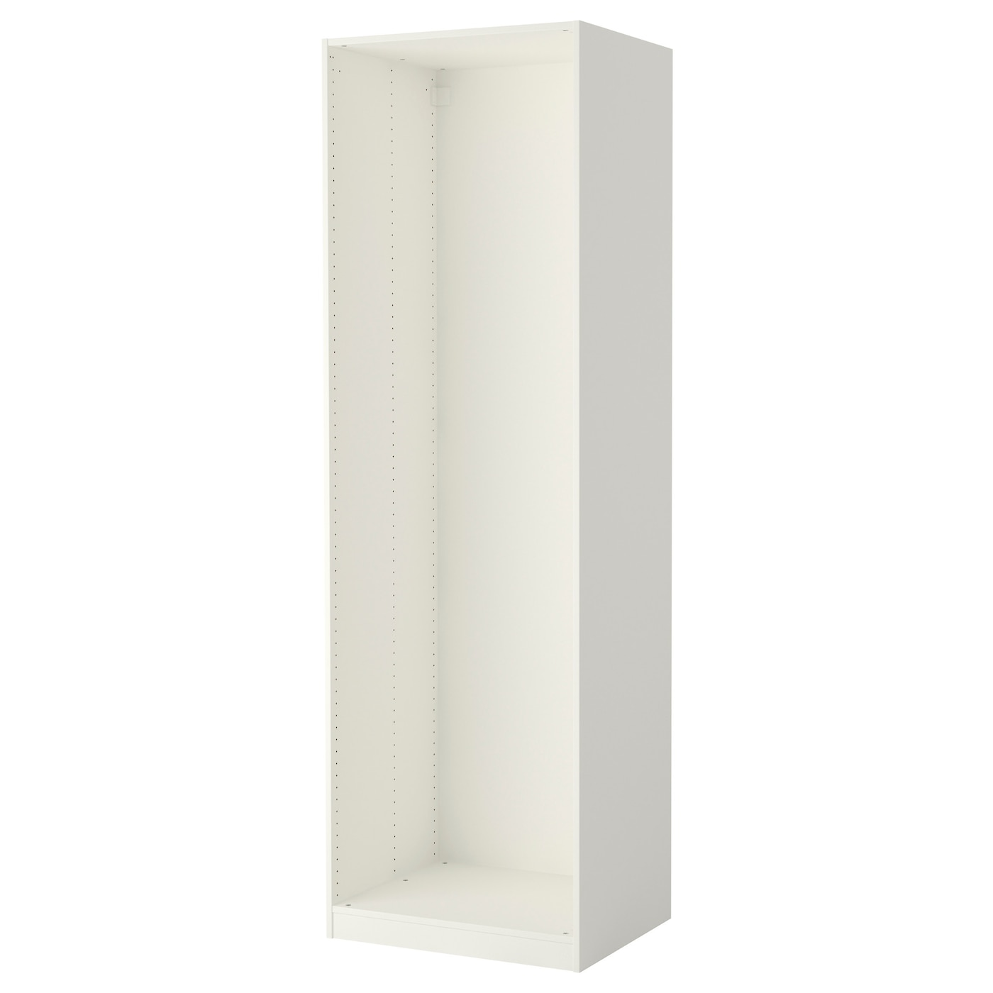 pax caisson d 39 armoire blanc 75 x 58 x 236 cm ikea. Black Bedroom Furniture Sets. Home Design Ideas