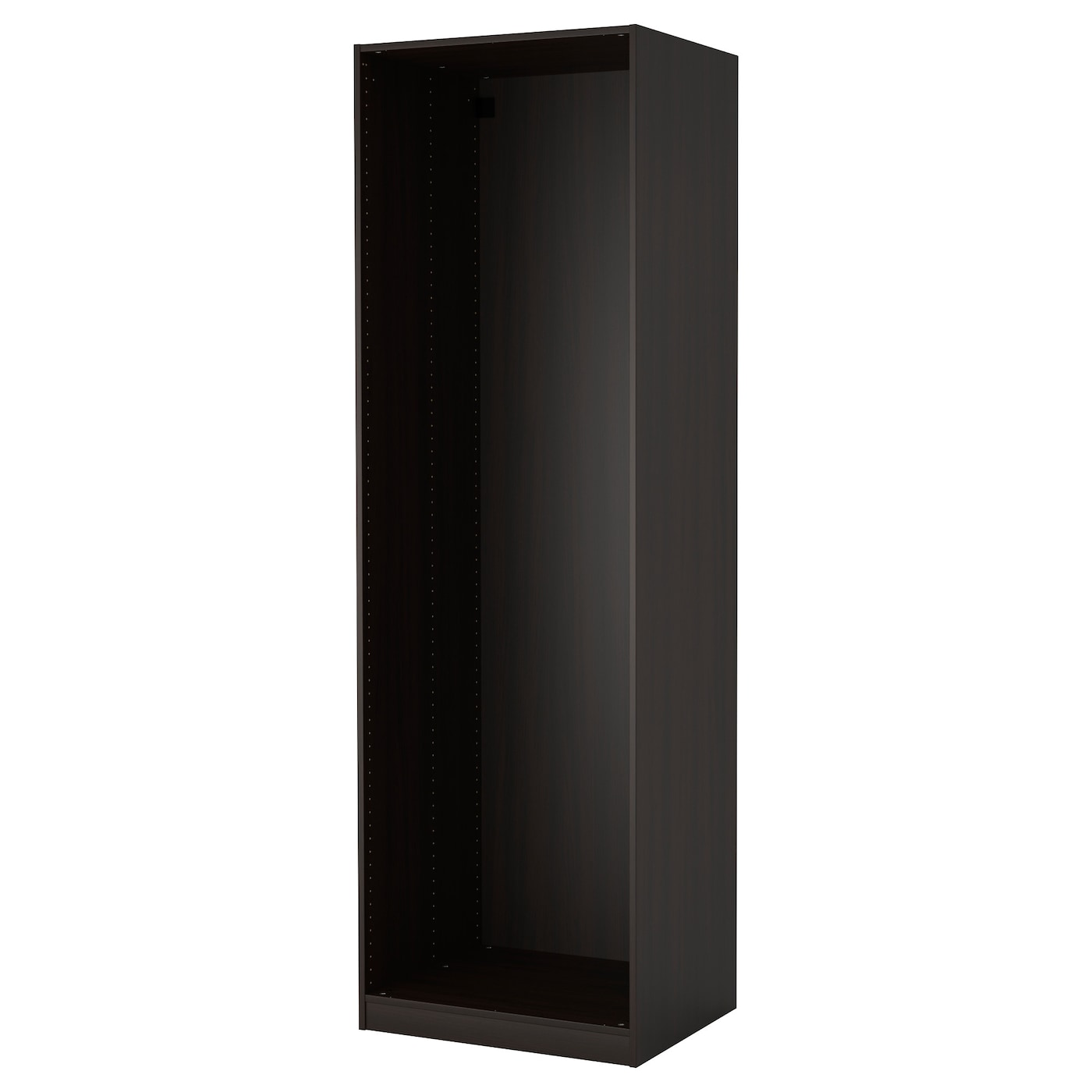 pax caisson d 39 armoire brun noir 75 x 58 x 236 cm ikea. Black Bedroom Furniture Sets. Home Design Ideas