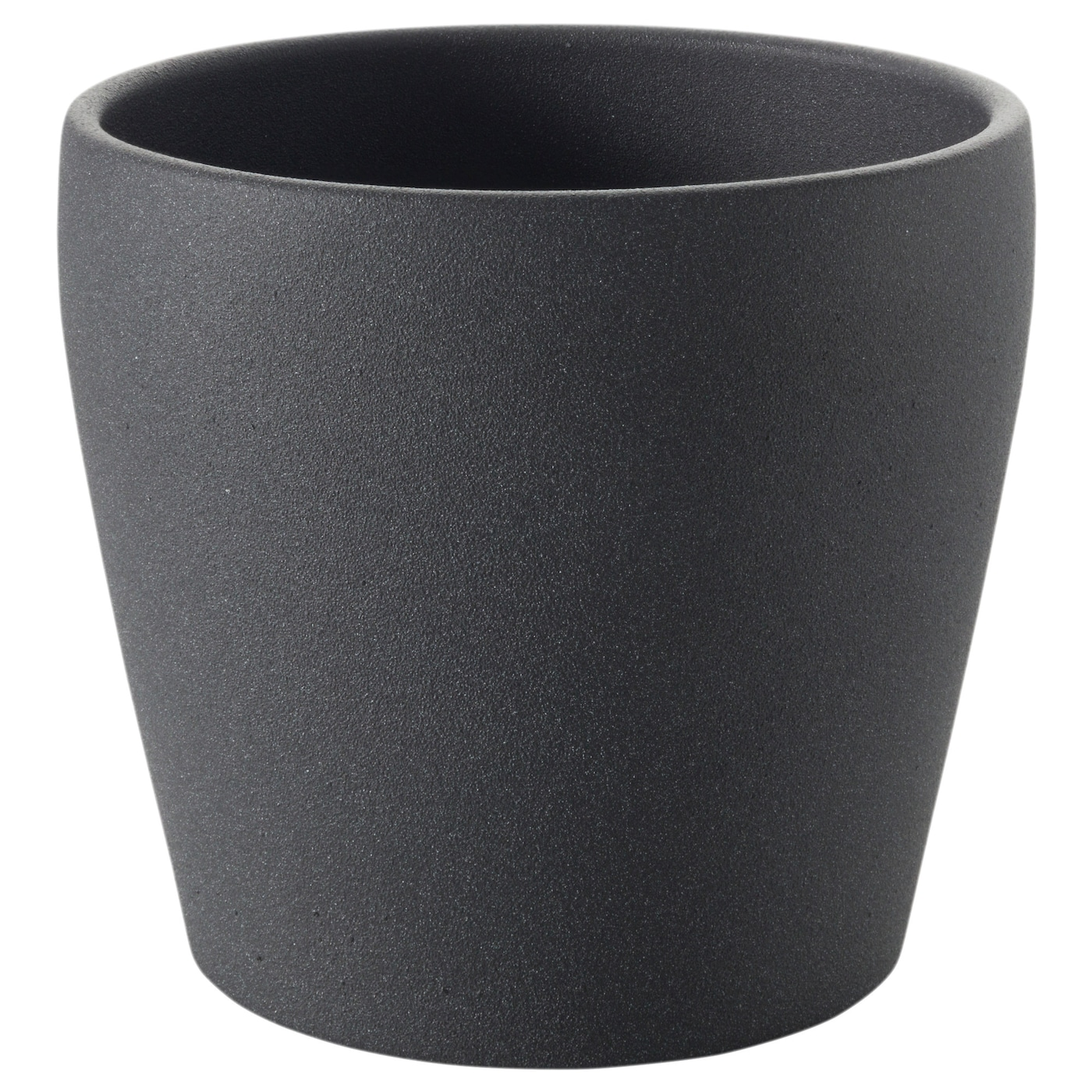 persillade cache pot gris fonc 10 cm ikea. Black Bedroom Furniture Sets. Home Design Ideas