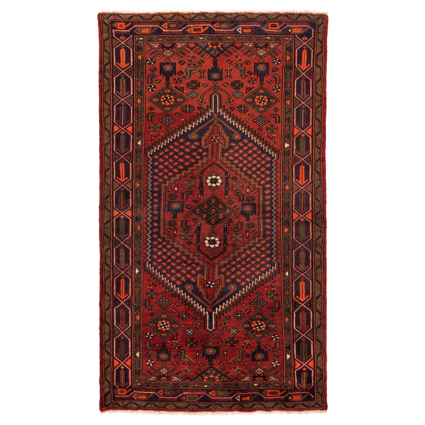 persisk hamadan tapis poils ras fait main motifs divers 140 x 200 cm ikea. Black Bedroom Furniture Sets. Home Design Ideas