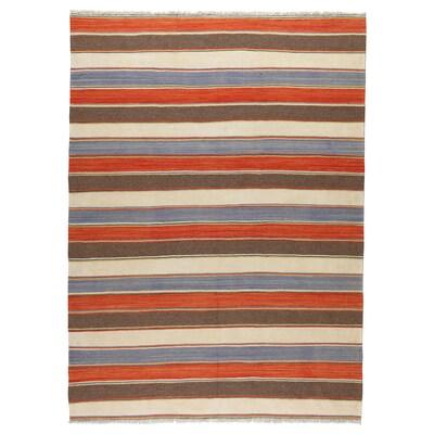 PERSISK KELIM GASHGAI Tapis tissé à plat, fait main motifs divers, 170x250 cm
