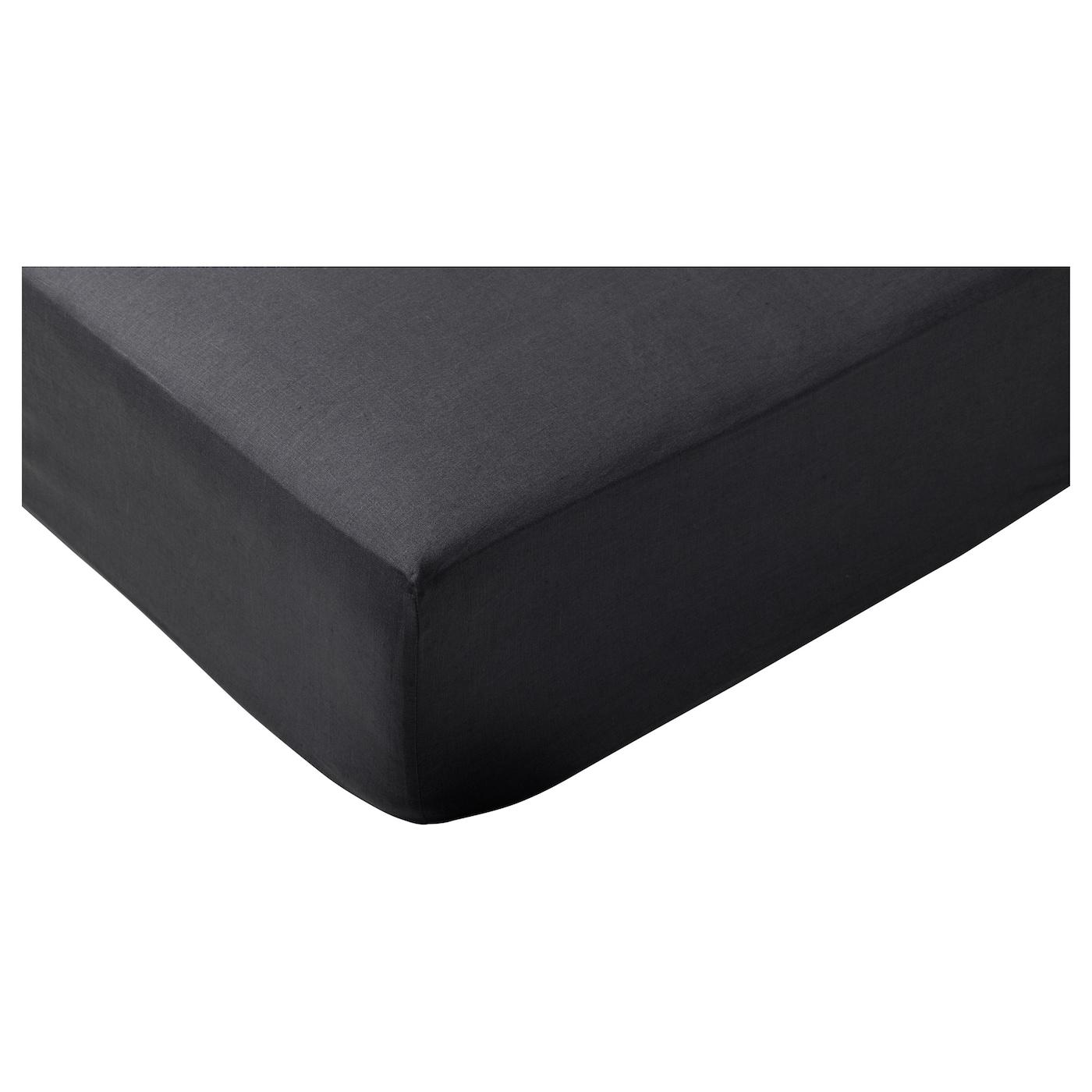 puderviva taie d 39 oreiller gris fonc 50x60 cm ikea. Black Bedroom Furniture Sets. Home Design Ideas