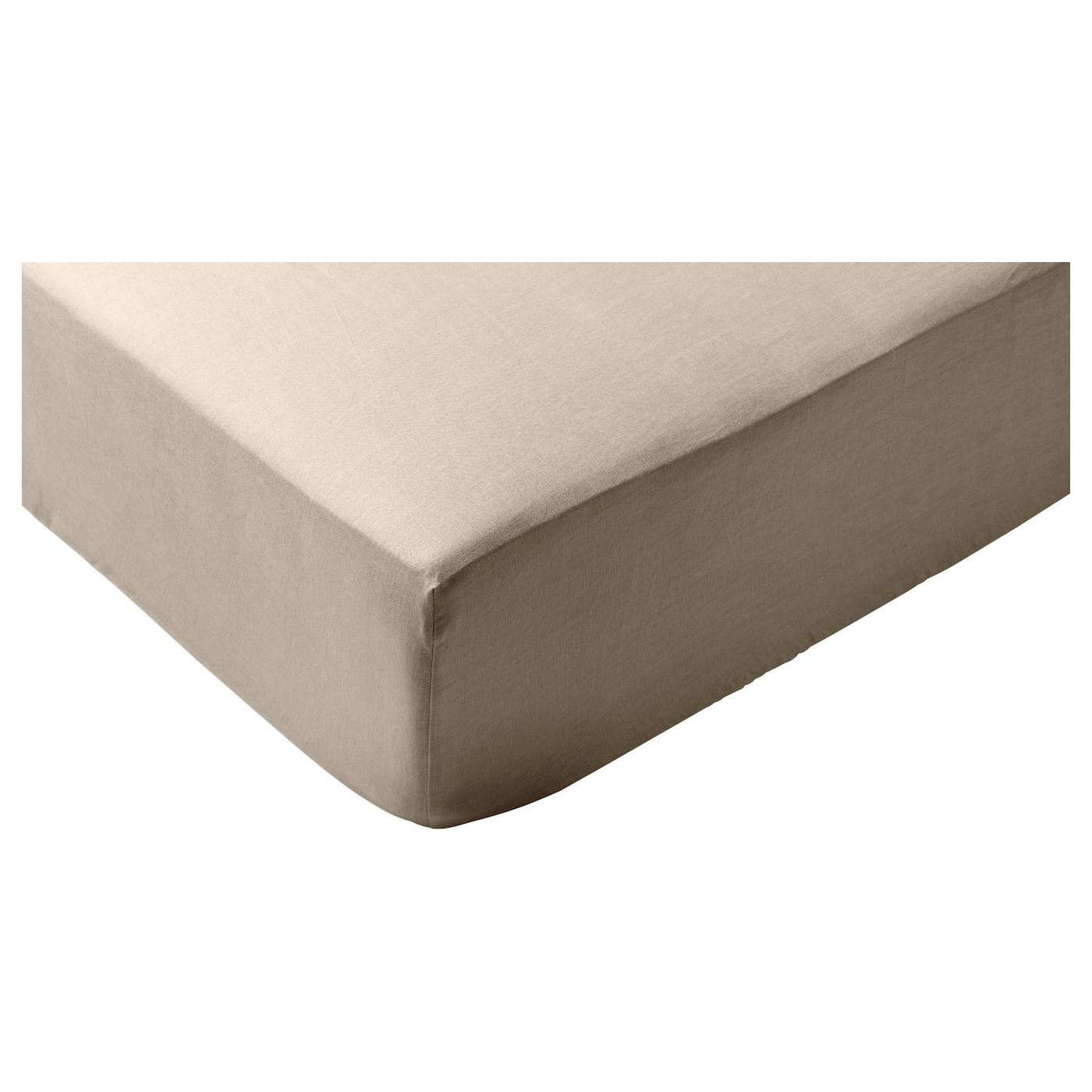 Puderviva drap housse naturel 90x200 cm ikea for Drap housse 90x200
