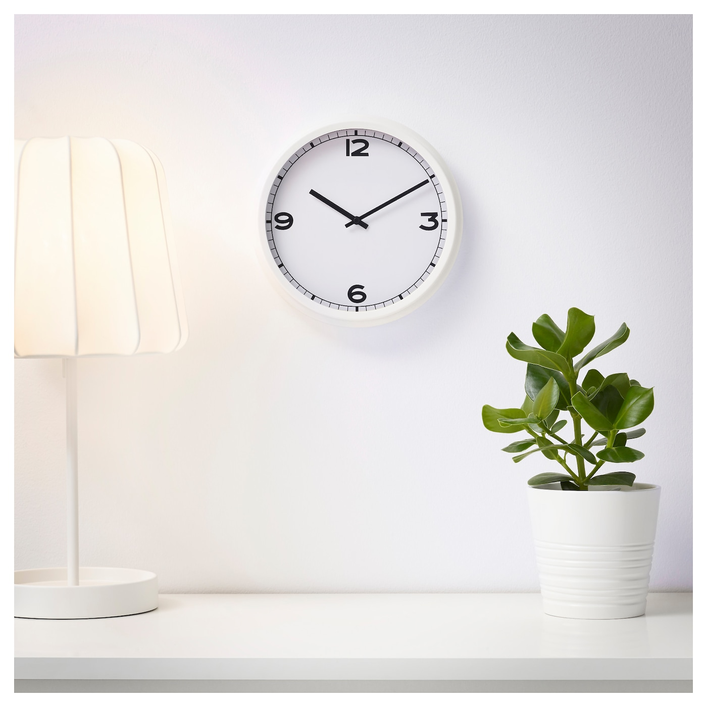 pugg horloge murale blanc 25 cm ikea. Black Bedroom Furniture Sets. Home Design Ideas