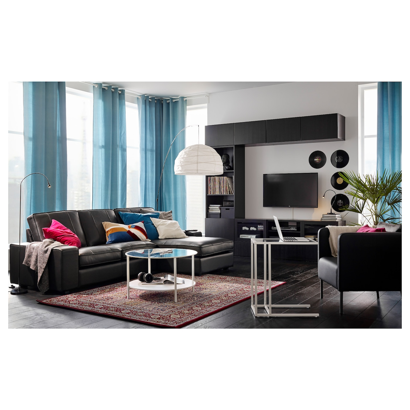 regolit lampadaire arceau blanc noir ikea. Black Bedroom Furniture Sets. Home Design Ideas