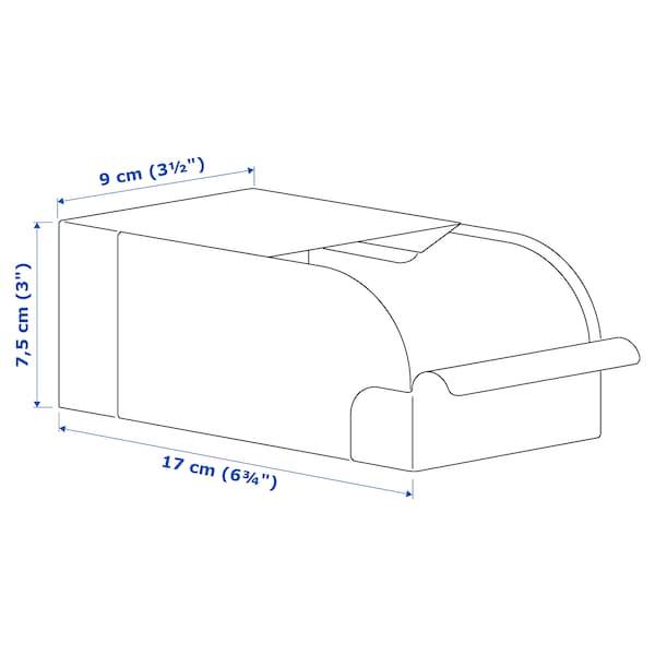 REJSA Boîte, gris vert/métal, 9x17x7.5 cm