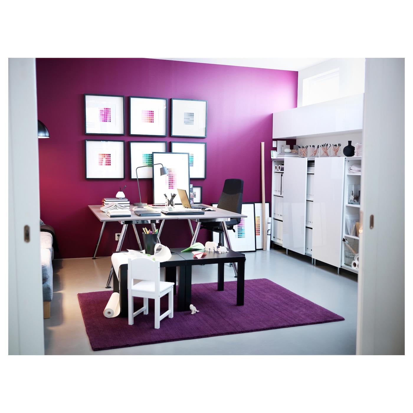 ribba cadre noir 50 x 50 cm ikea. Black Bedroom Furniture Sets. Home Design Ideas