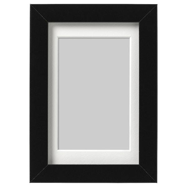 RIBBA Cadre, noir, 10x15 cm