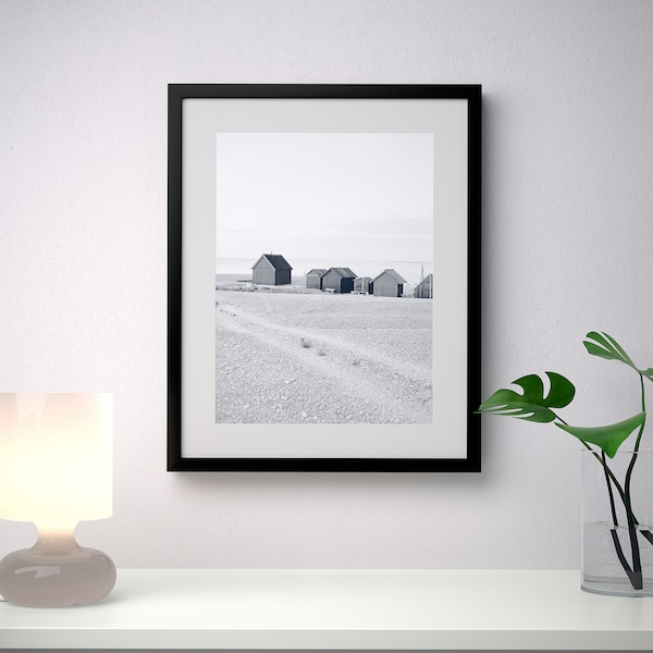 RIBBA Cadre, noir, 40x50 cm