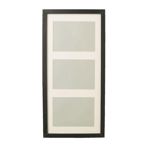 ribba cadre noir 50x23 cm ikea. Black Bedroom Furniture Sets. Home Design Ideas