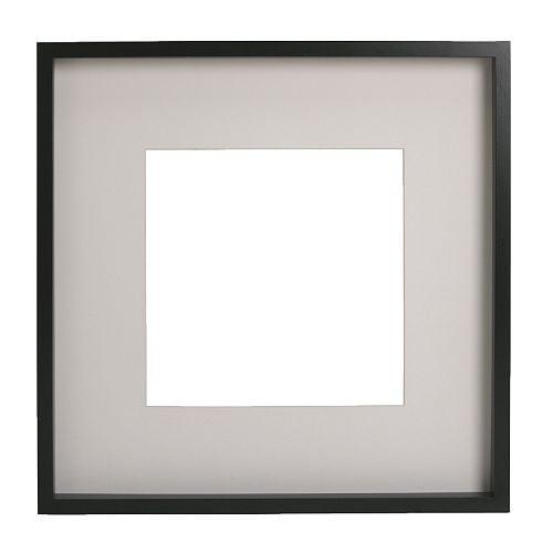 Ribba cadre 50x50 cm ikea for Miroir 50x50