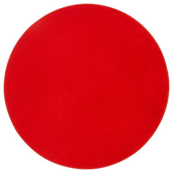 RISGÅRDE Tapis, poils ras, rouge, 70 cm