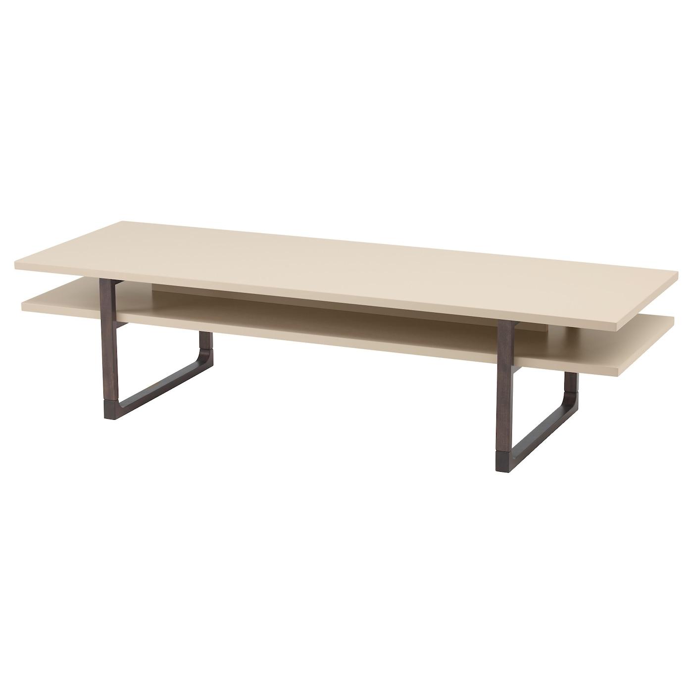 Rissna table basse beige 160x55 cm ikea for Table ikea 5 99