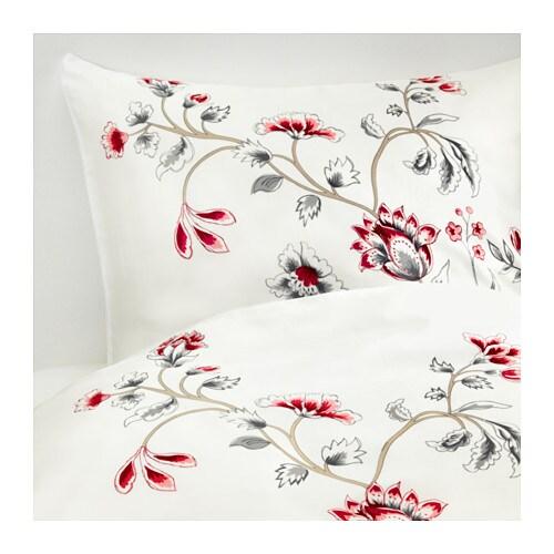 r dbinka housse de couette et taie 150x200 50x60 cm ikea. Black Bedroom Furniture Sets. Home Design Ideas