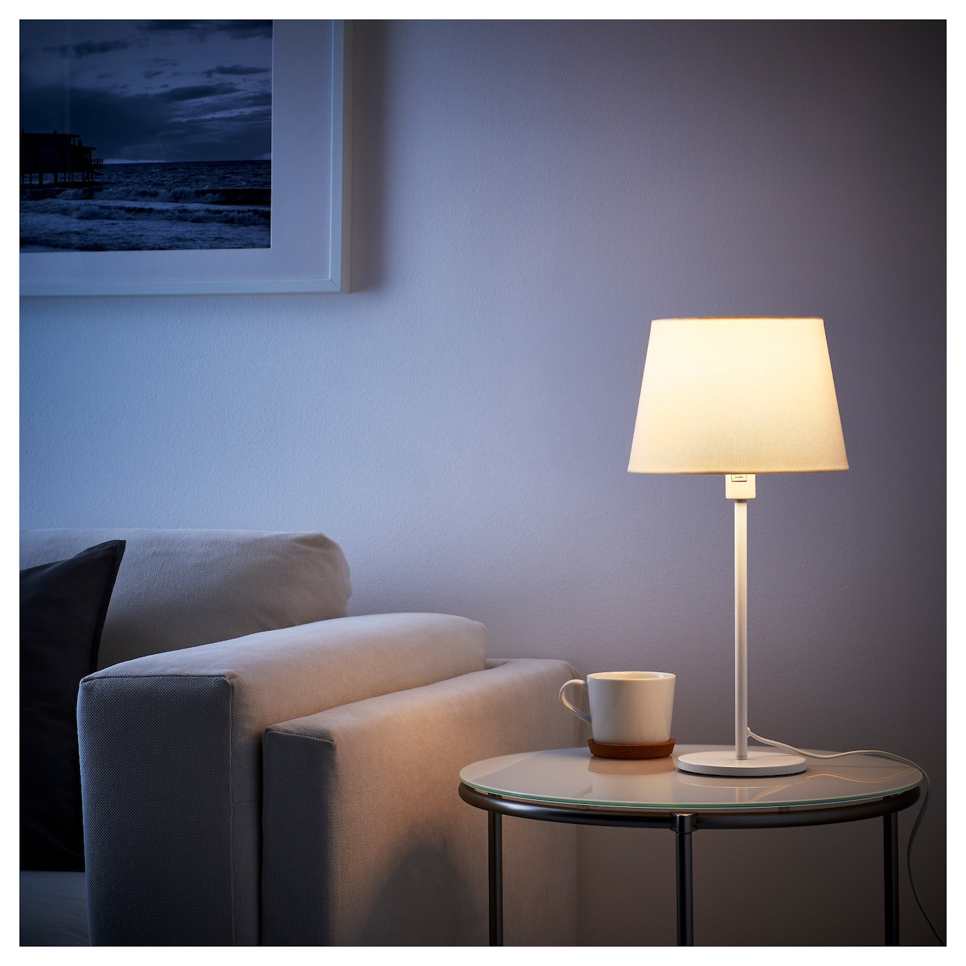 rodd pied de lampe de table blanc 35 cm ikea. Black Bedroom Furniture Sets. Home Design Ideas