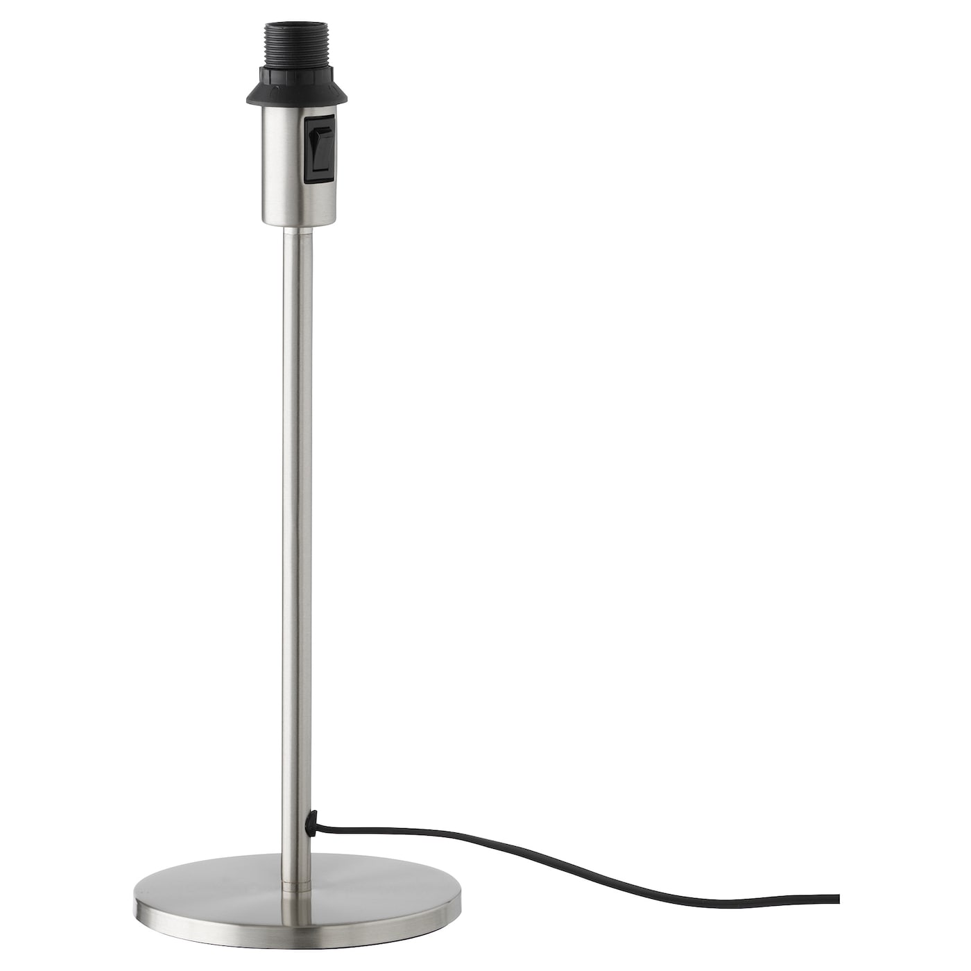 rodd pied de lampe de table nickel 35 cm ikea. Black Bedroom Furniture Sets. Home Design Ideas
