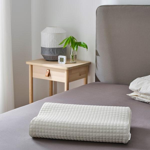 ROSENSKÄRM Oreiller ergonom, couchage côté/dos, 33x50 cm