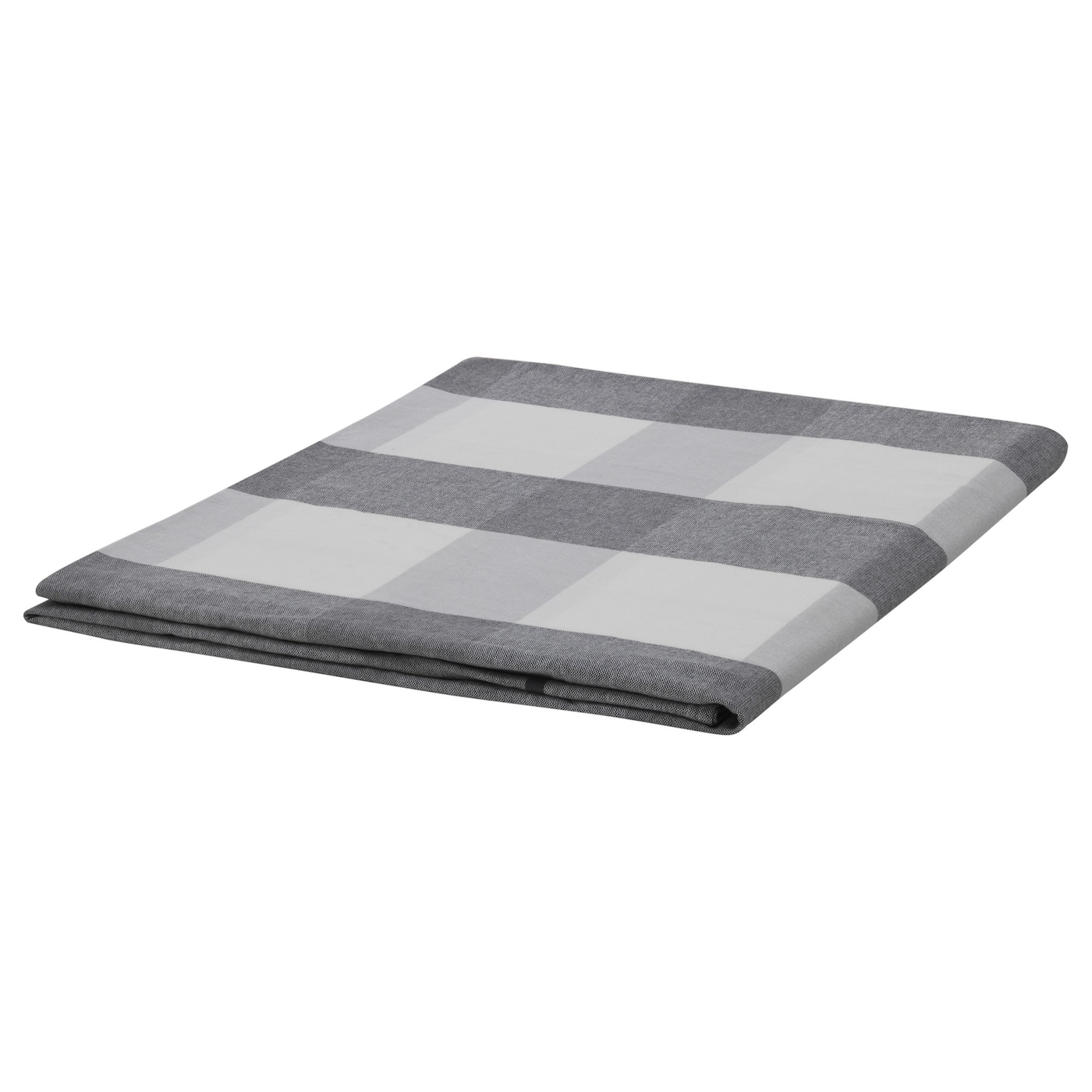 rutig nappe carreaux gris 145x240 cm ikea. Black Bedroom Furniture Sets. Home Design Ideas