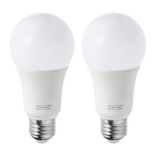 ryet ampoule led e27 1000 lumen globe opalin ikea. Black Bedroom Furniture Sets. Home Design Ideas