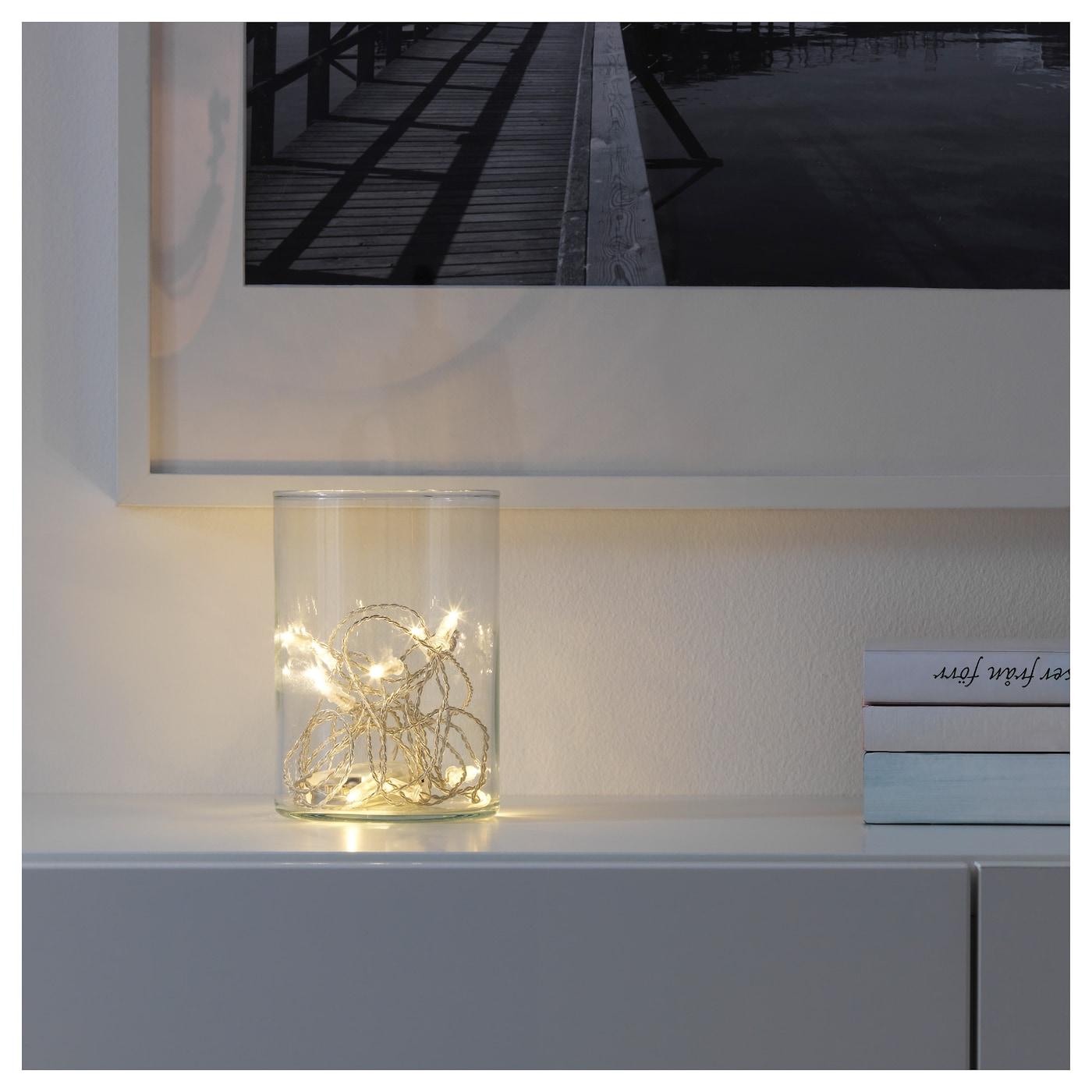 s rdal guirlande lumineuse led 12 amp transparent pile. Black Bedroom Furniture Sets. Home Design Ideas