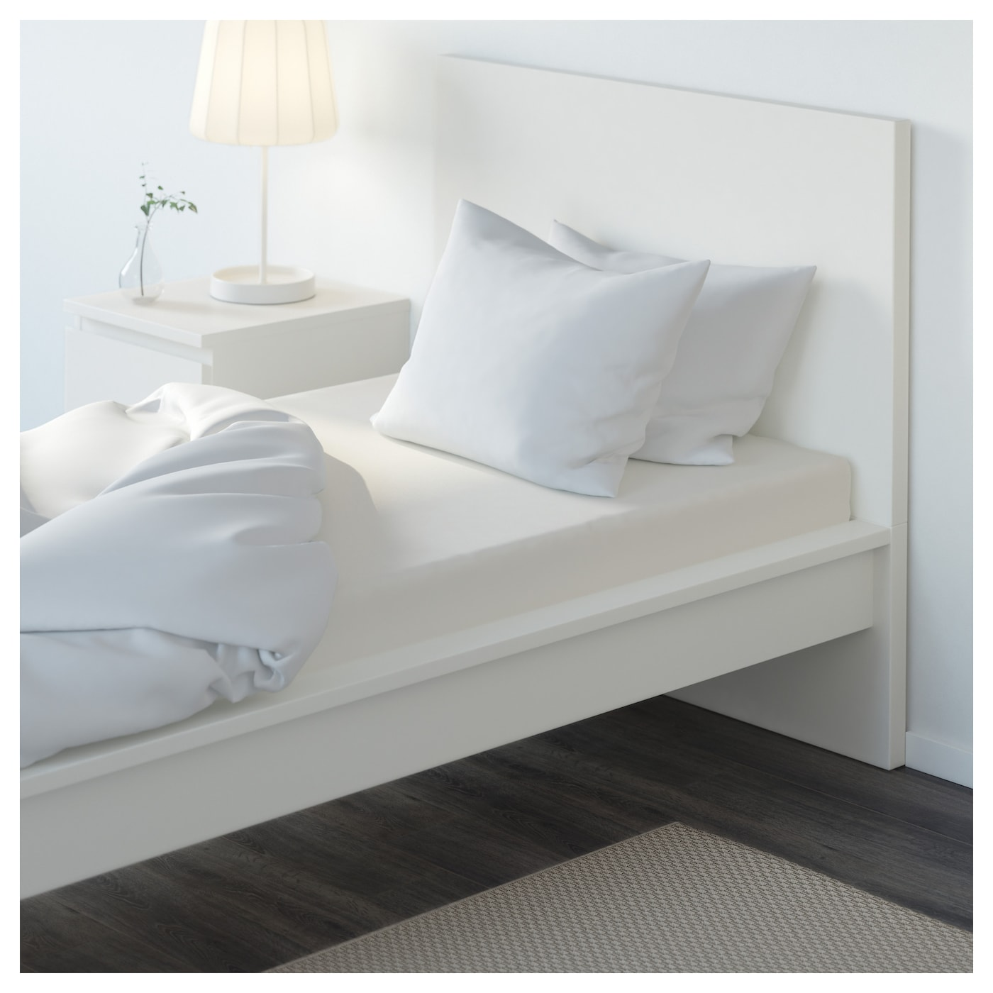 s mntuta drap housse blanc 90x200 cm ikea. Black Bedroom Furniture Sets. Home Design Ideas