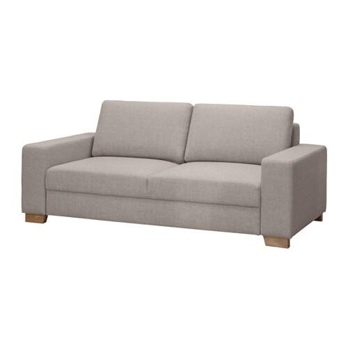 S–RVALLEN Canapé 2 places Tenö gris clair IKEA