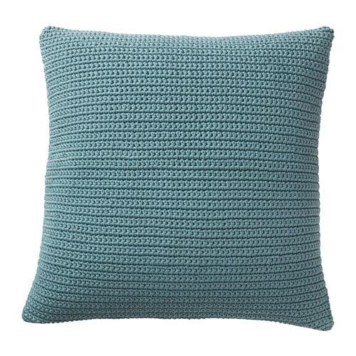 s tholmen housse de coussin int rieur ext rieur bleu 50x50 cm ikea. Black Bedroom Furniture Sets. Home Design Ideas