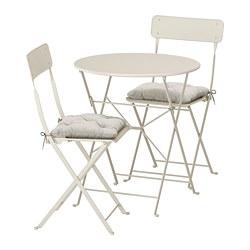 IKEA SALTHOLMEN Table 2 Chaises Pliantes Exterieur