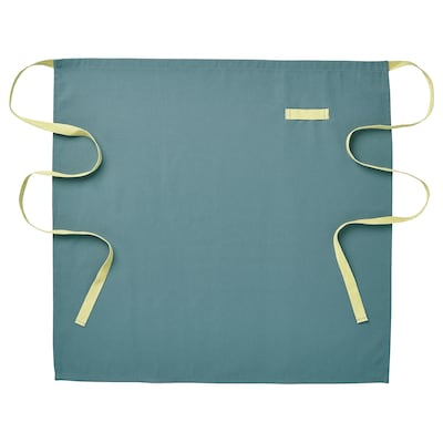 SANDVIVA Demi tablier, bleu, 69x65 cm