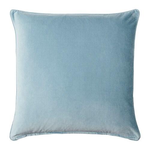 Sanela housse de coussin bleu clair 65x65 cm ikea for Housse coussin 65x65