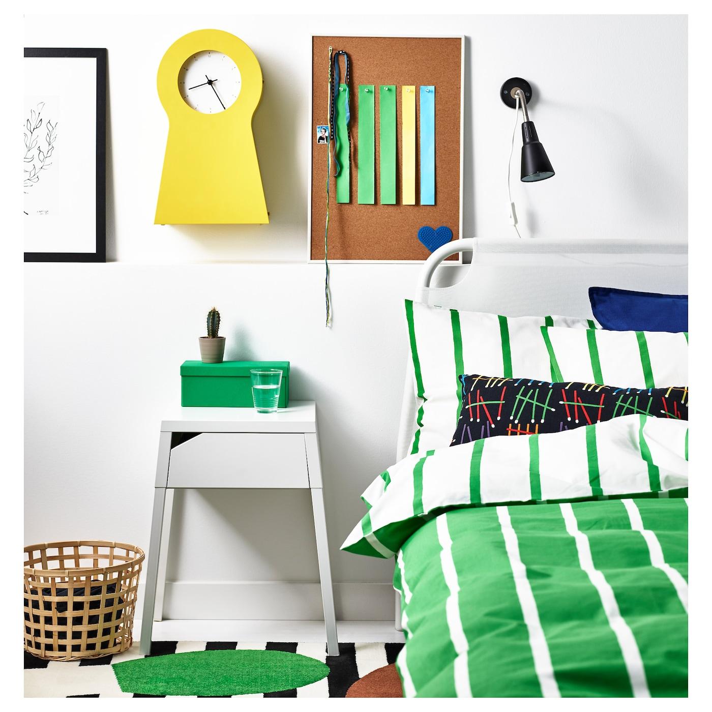 selje table de chevet blanc 46 x 37 cm ikea. Black Bedroom Furniture Sets. Home Design Ideas