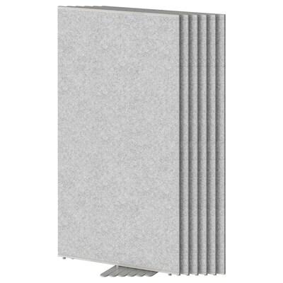 SIDORNA Paravent, gris, 80x150 cm