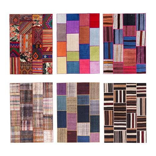 SILKEBORG Tapis tissu00e9 u00e0 plat Ce tapis est unique car composu00e9 de ...