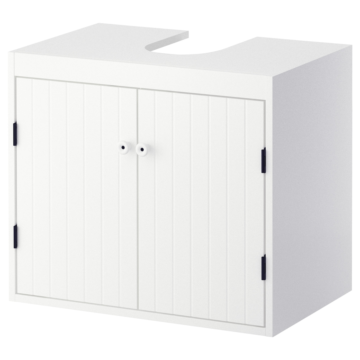 silver n l ment bas lavabo 2 portes blanc 60x38x51 cm ikea. Black Bedroom Furniture Sets. Home Design Ideas