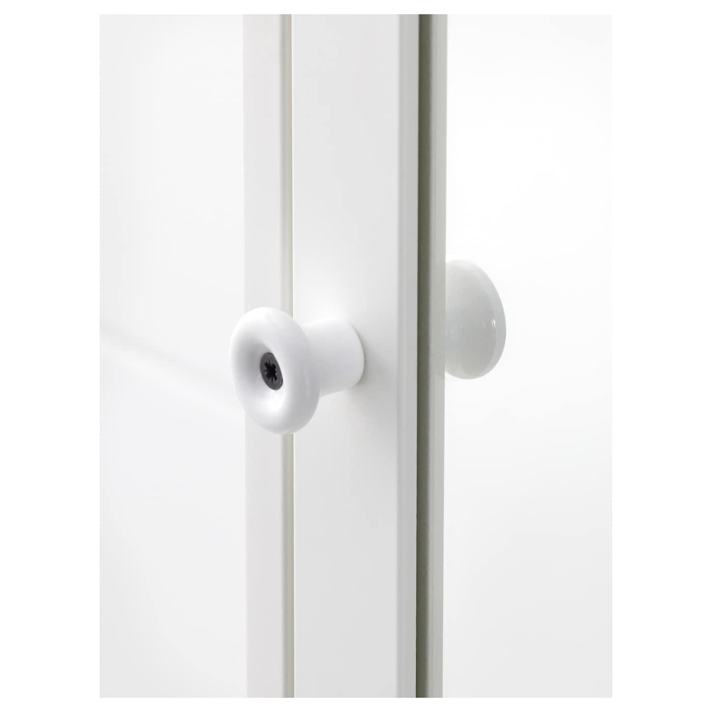 silver n armoire avec porte miroir blanc 40 x 25 x 172 cm ikea. Black Bedroom Furniture Sets. Home Design Ideas