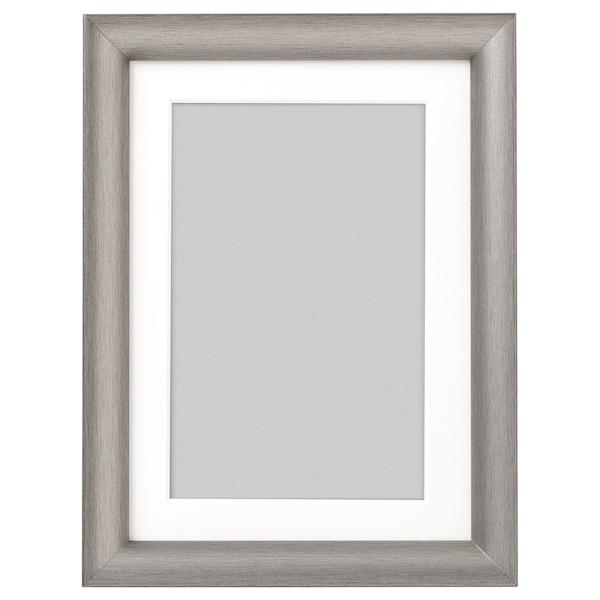SILVERHÖJDEN Cadre, couleur argent, 13x18 cm
