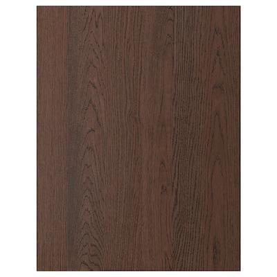 SINARP Panneau latéral de finition, brun, 62x80 cm