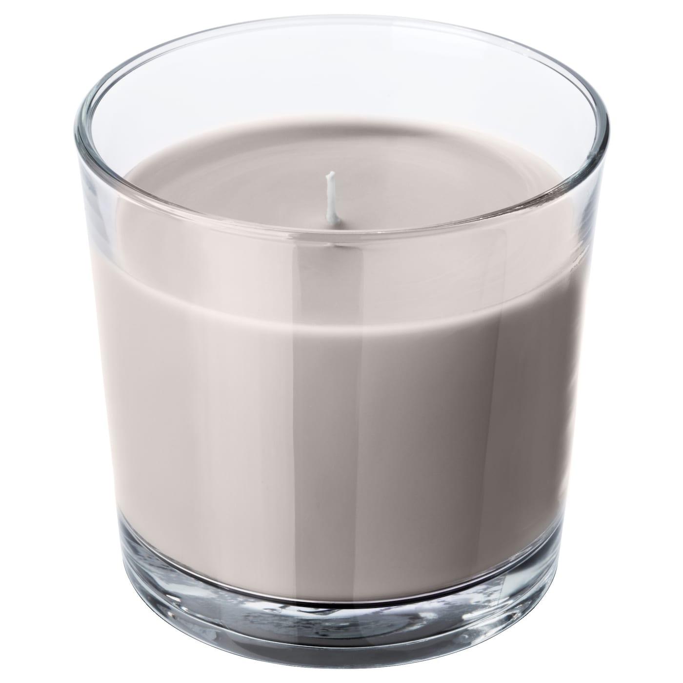 sinnlig bougie parfum e dans verre muscade et vanille gris 9 cm ikea. Black Bedroom Furniture Sets. Home Design Ideas