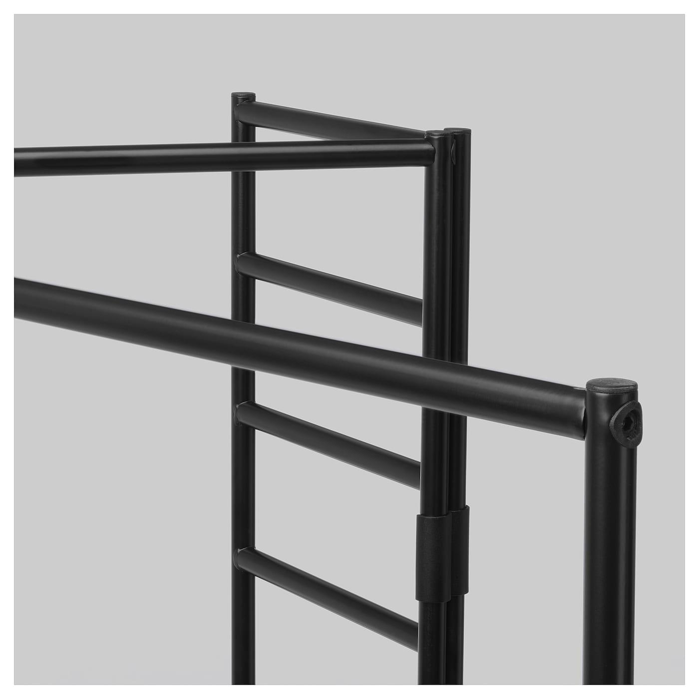 sjÄlvstÄndig paravent, int/ext noir 161 x 160 cm - ikea