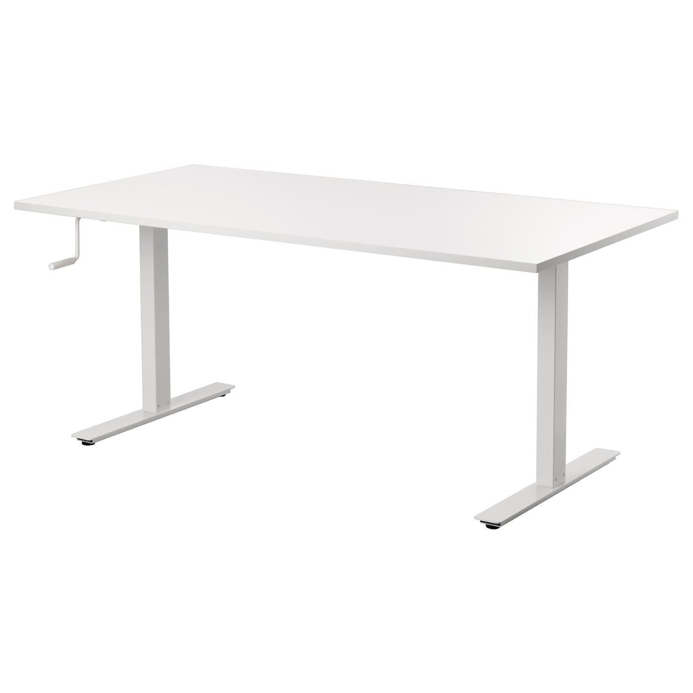 skarsta bureau assis debout blanc 160x80 cm ikea. Black Bedroom Furniture Sets. Home Design Ideas