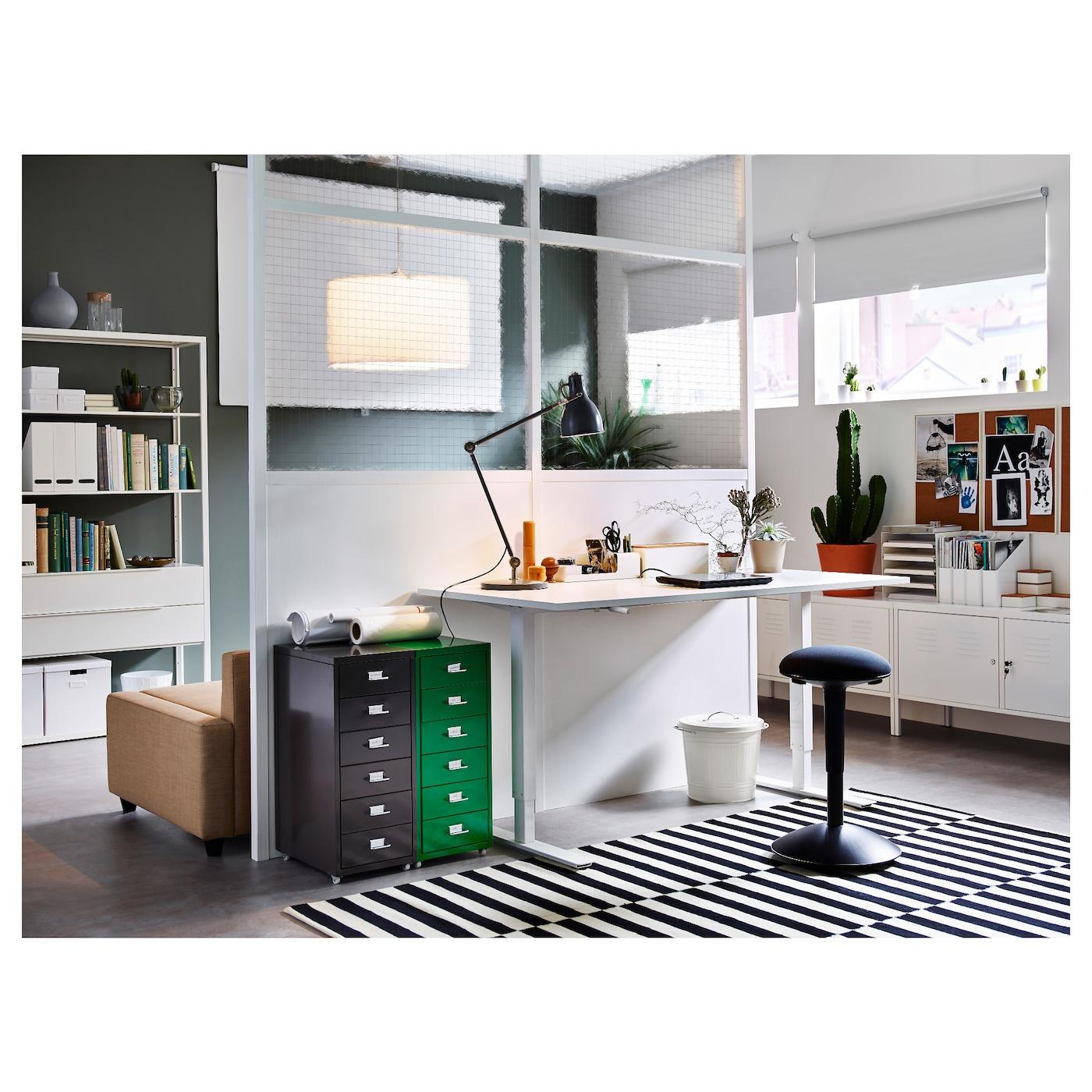 skarsta bureau assis debout blanc 120x70 cm ikea. Black Bedroom Furniture Sets. Home Design Ideas