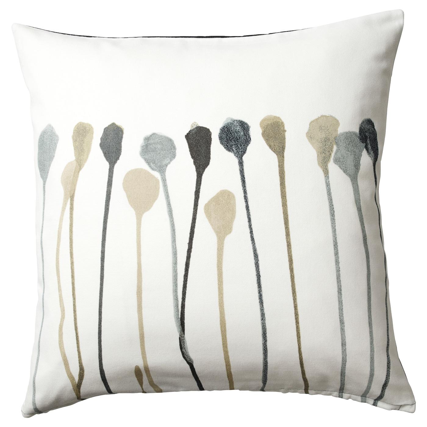 skogsn va housse de coussin gris beige 50x50 cm ikea. Black Bedroom Furniture Sets. Home Design Ideas