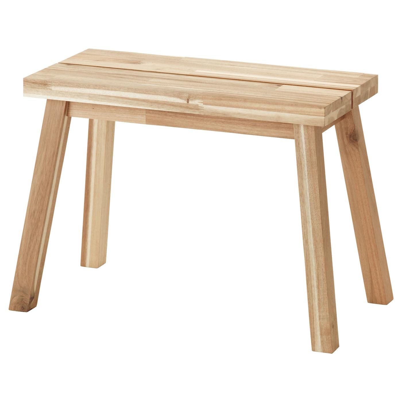 Skogsta Banc Acacia 60 Cm Ikea # Banc En Bois Massif